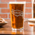 Etched Pint Glass - Design: B2 Personalized
