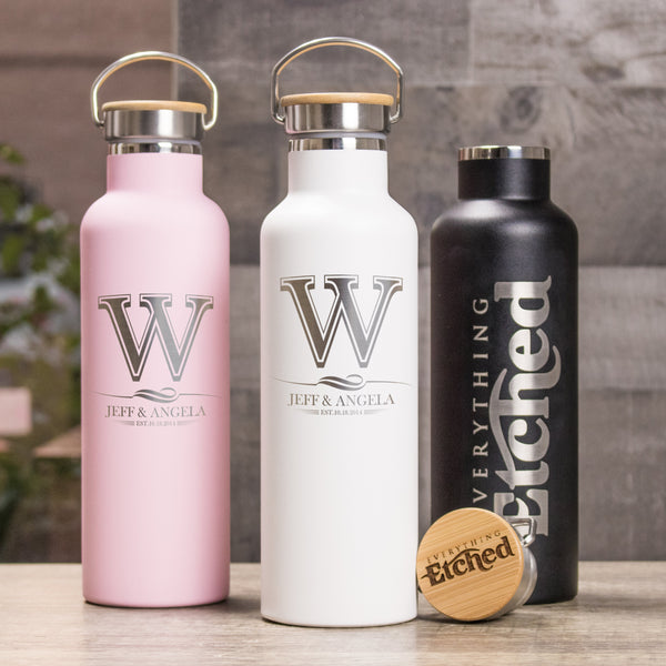 25oz Stainless Steel Bottle - Design: K2