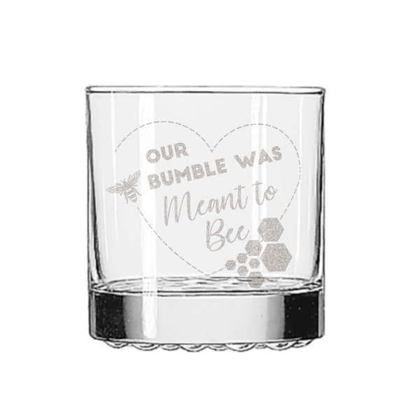 Bumble Dating Whiskey Glass - Design: BUMBLE