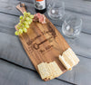 Personalized Cheese Board Rectangle Housewarming Gift - Design: HW1