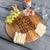 Personalized Cheese Board Round - Design: CUSTOM