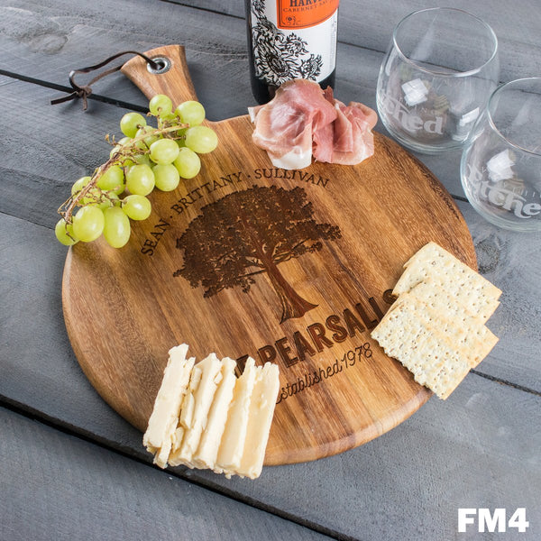 Round Cheese Board - Design: FM4