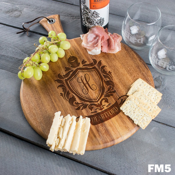 Round Cheese Board - FM5