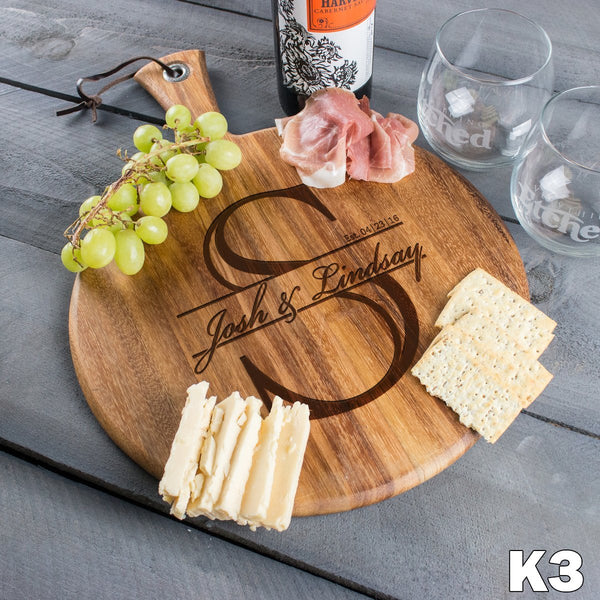 Round Cheese Board - Design: K3