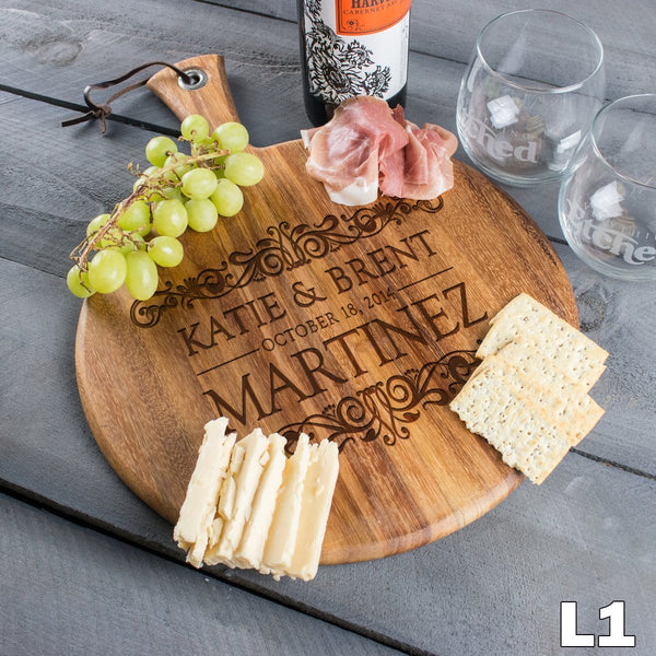 Round Cheese Board - Design: L1