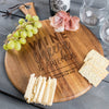 Round Cheese Board - Design: Better With Age