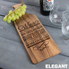Wine Cheese Board - Design: Elegant