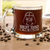 Etched Glass Coffee Mug - Design: Best Dad in the Galaxy (FD5)