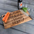 Personalized Wood Cutting Board Large - Design: CUSTOM