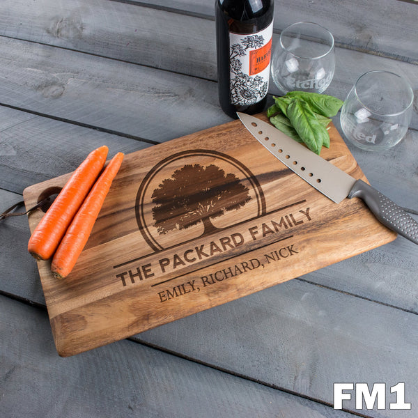 Large Cutting Board - Design: FM1