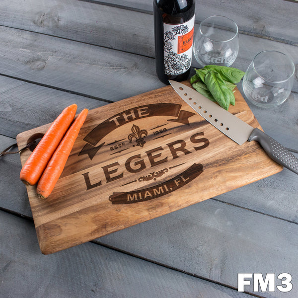 Large Cutting Board - Design: FM3