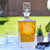 Etched Whiskey Decanter, Ornate - Design: CUSTOM