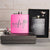 Black and Pink Flask Set - HH1