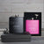 Black and Pink Flask Set - Design: HH3