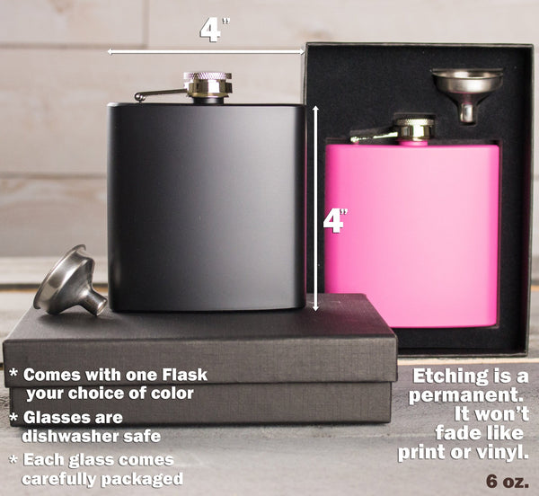 Metal Flask - Design: L1