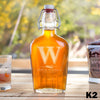Monogram Glass Flask - 9 Designs