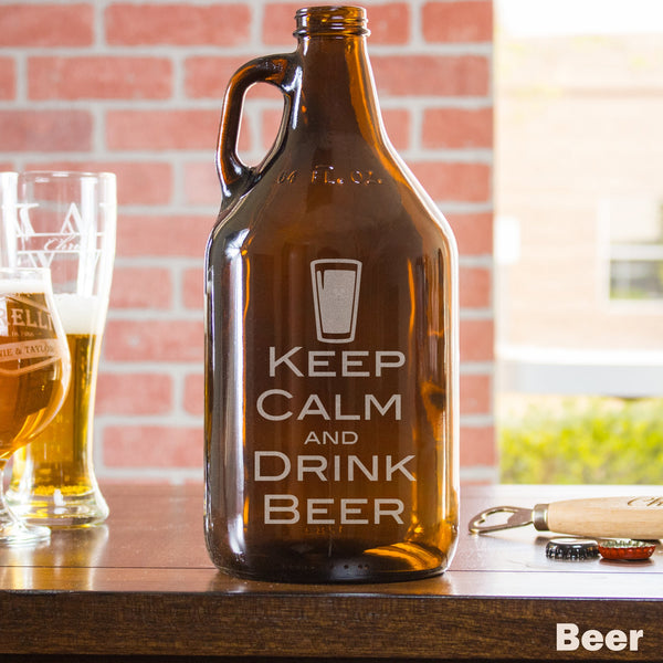 Growler - Design: BEER