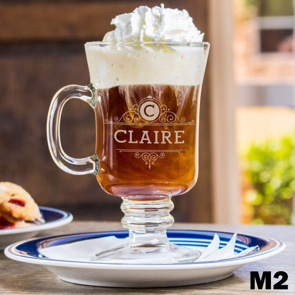 Personalized Irish Coffee Mug - 9 Designs