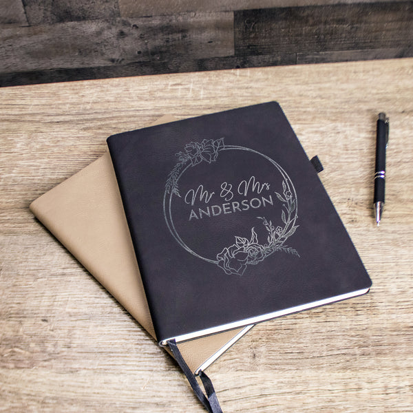 Personalized Wedding Planner Book - Design: L6