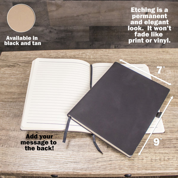Leather Notebook Notebook Story - Design: NBSTORY