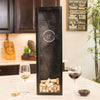 Small Rectangle Wine Cork Holder Monogram - Design: N3