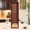 Small Rectangle Wine Cork Holder - Design: N3 Monogram