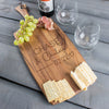 Relationship Personalized Cheese Board Rectangle - Design: N6