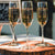 Relationship Personalized Champagne Flutes - Design: N6
