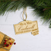 Change the Date Pandemic Christmas Ornament - Design: OR4NA