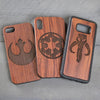 Wood Phone Case - Design: Star Wars Allegiance