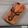 Wood Phone Case - Design: DEER