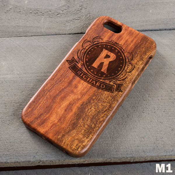 Wood Phone Case - Design: M1