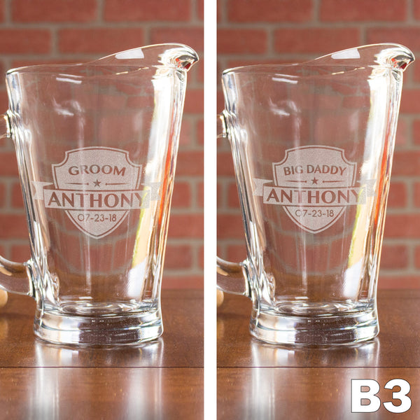 Glass Pitcher - Design: B3