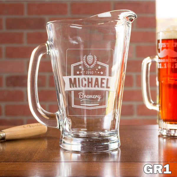 Glass Pitcher - Design: GR1