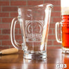 Etched Glass Pitcher - Design: GR3