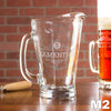 Etched Glass Pitcher - Design: M2