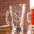 Etched Glass Pitcher - Design: M3