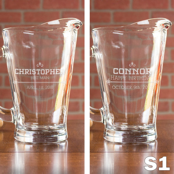 Personalized Pitcher - 12 Designs