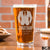 Etched Pint Glass Groomsman - Design: BG3