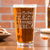 Personalized Pint Glass - Design: CUSTOM