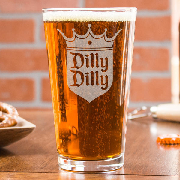 Pint Glass - Design: Dilly Dilly