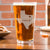 Etched Pint Glass - Design: Hometown