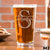 Etched Pint Glass - Design: M3 Monogram