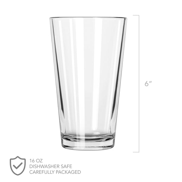 Quarantine Valentine's Pint Glass - Design: VDCOV