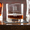 Engraved Whiskey Glasses - Design: INITIAL2