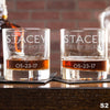 Engraved Whiskey Glasses - Design: S2 Personalized