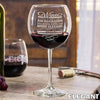 Red Wine Glass - Elegant