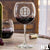 Etched Red Wine Glasses - Design: K1 Monogram