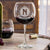 Etched Red Wine Glasses - Design: M1 Monogram