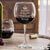 Etched Red Wine Glasses - Design: Keep Calm and Drink Wine with Crown